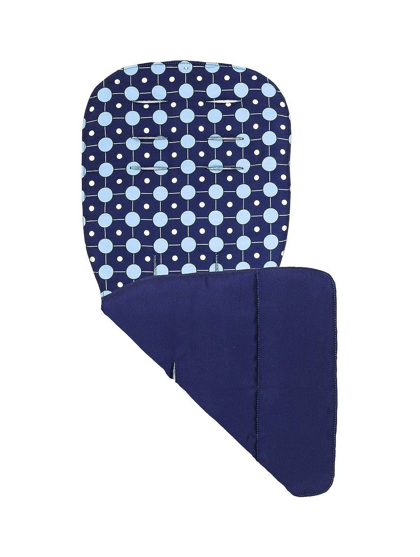 Azul Accesorio para silla de paseo Forro de asiento Maclaren atom
