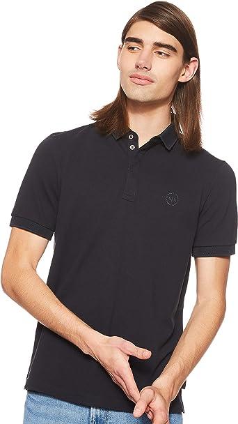 Armani Exchange Elegance Polo para Hombre: Amazon.es: Ropa y ...