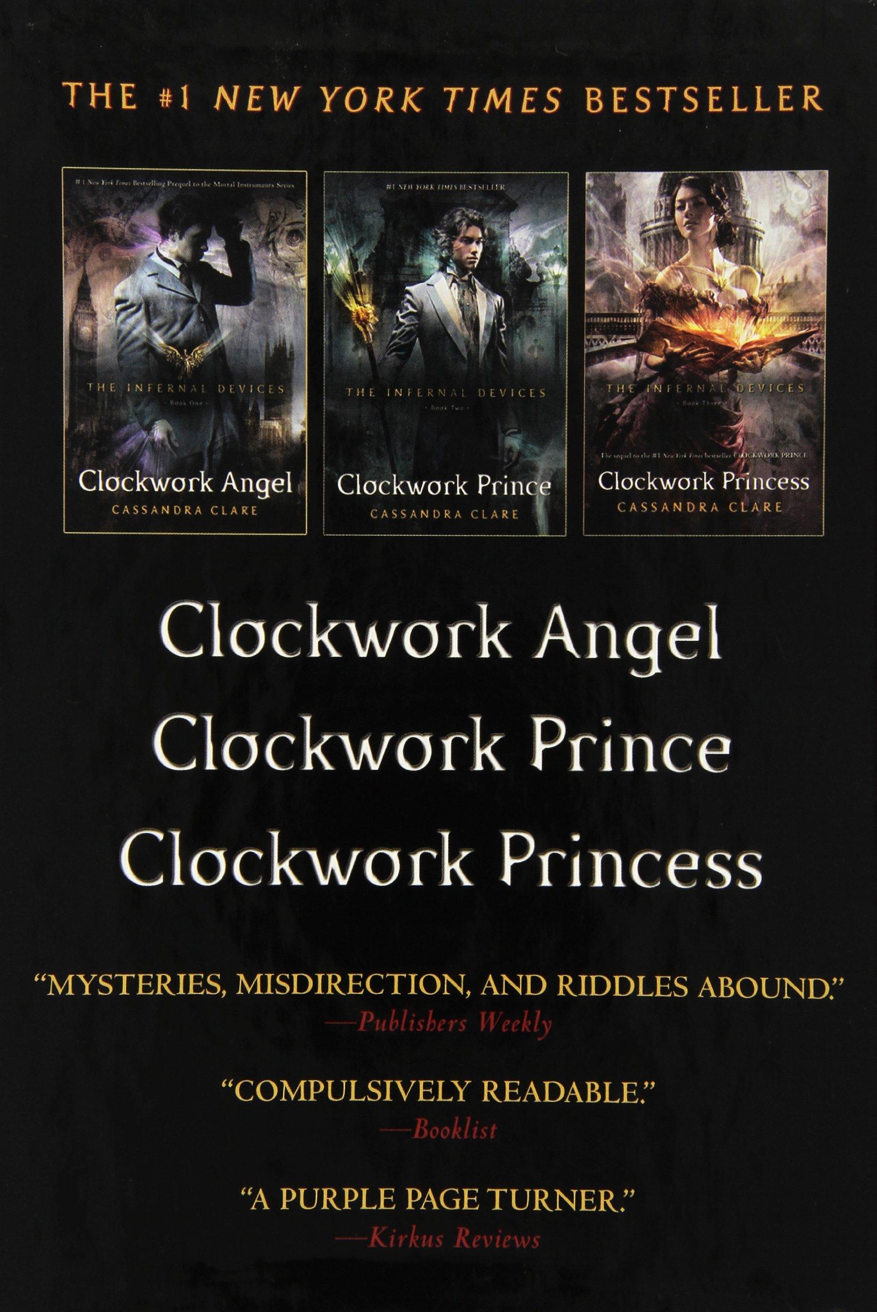 Amazon: The Infernal Devices: Clockwork Angel; Clockwork Prince; Clockwork  Princess (8601400825723): Cassandra Clare: Books