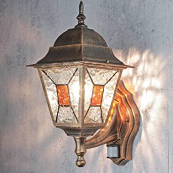 Palazzo Int Xxl Applique Murale Salzbourg Avec Détecteur De