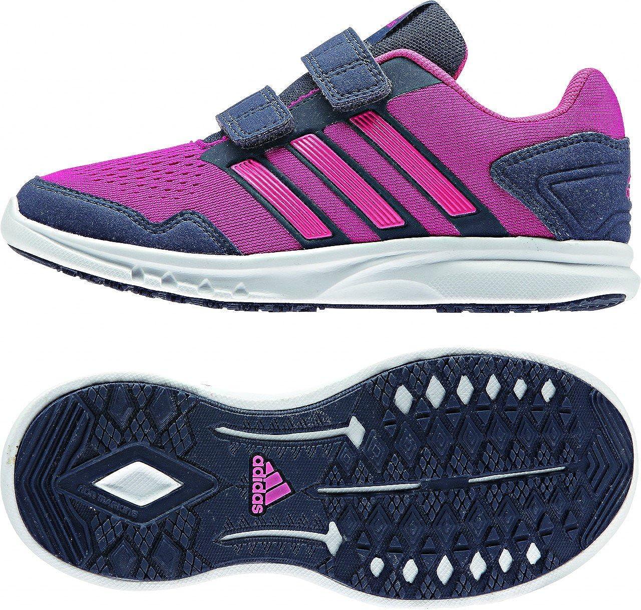 new style 883a8 5c56a adidas Runfastic CF K, Baskets Mode pour garçon RoseGris 30 EU Enfant  Amazon.fr Chaussures et Sacs