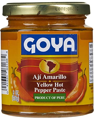 Goya Foods Inc. Pasta De Aji Amarillo, 8 Ounce Unit (Pack of 6