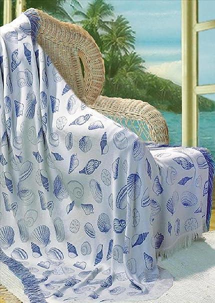 Amazon Throw Blankets Seashell Throw Blanket Natural Fascinating Periwinkle Throw Blanket
