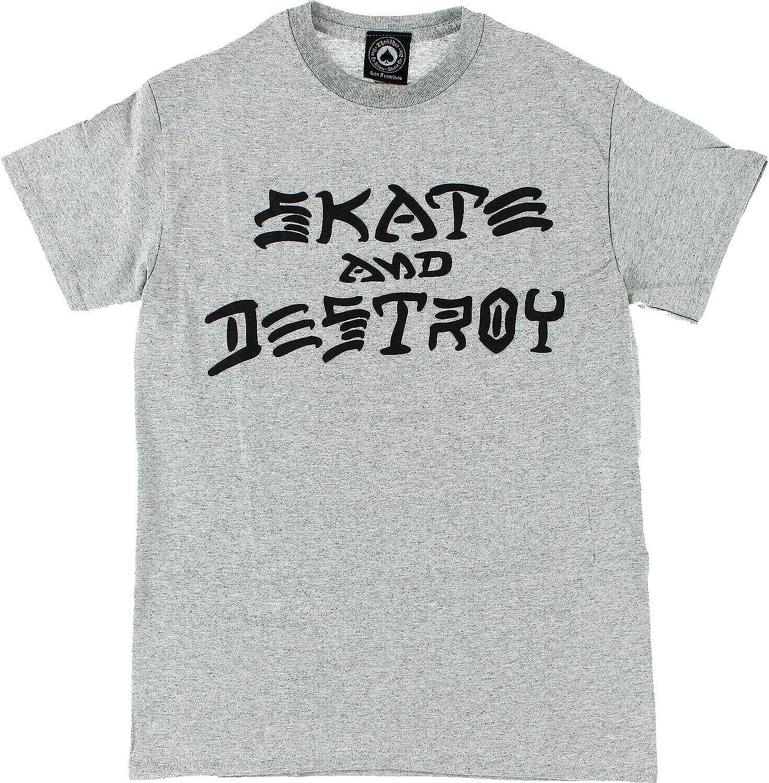 Smooffly Men Street Dogs Logo Fashion Crew-Neck Cotton Short Sleeves T-Shirt