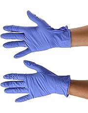 Vulcan Blue Nitrile Gloves, Medium, 150 Count