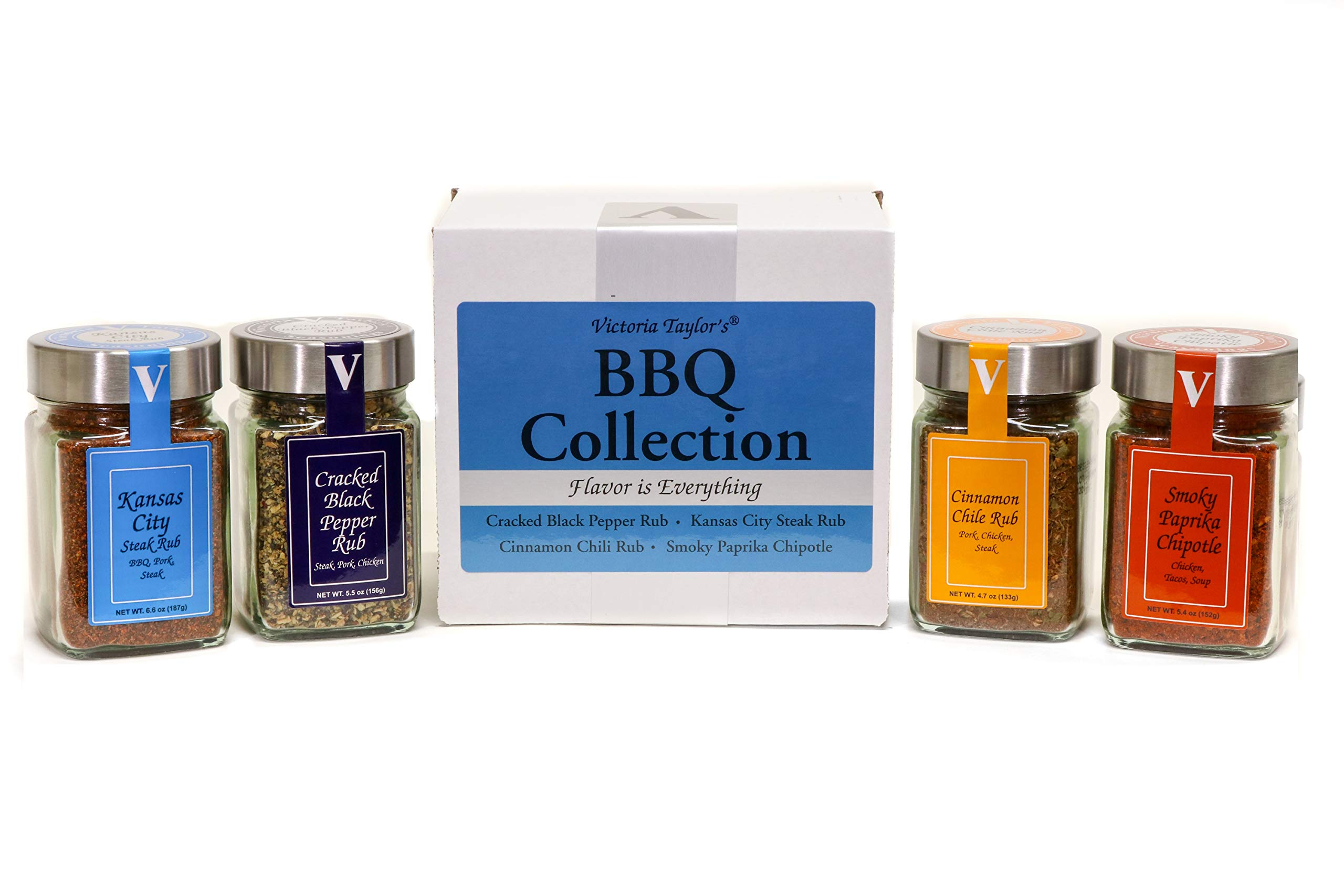 BBQ Collection - 4 rubs for grilling and BBQ. by Victoria Taylor's