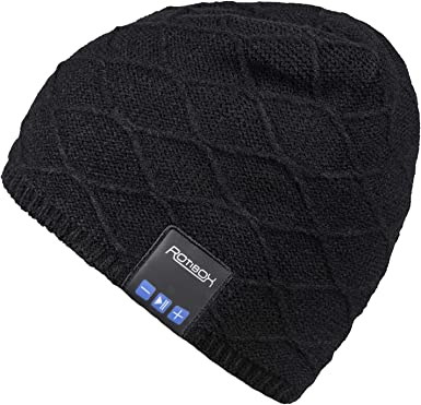Wireless Bluetooth 4.2 Headset Headphone Hat Music Sport Running Baseball Cap Wireless Beanie Hat Music Hat Speakers Beret Fashion Cap Gray