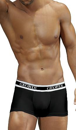Diane & Geordi 5170 Men Underwear Boxer Ropa Interior Hombre Black XL