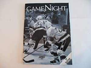 MARCH 19, 1994 VOLUME 4 NUMBER 4 MAGAZINE FEATURING THE LOS ANGELES KINGS VS. SAN JOSE SHARKS *GAME NIGHT*