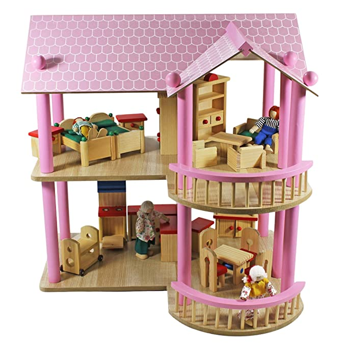 Villa Puppenhaus - XL Puppenhaus Villa