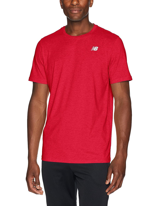 Rouge Team M nouveau   Heather Tech T- T-Shirt Homme