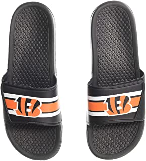 b9fb3c473df Amazon.com : FOCO NFL Mens Legacy Sport Shower Slide Sandals ...