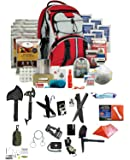 Ultimate Arms Gear Wise Company 5 Day Emergency Bug Out Backpack (Red) With Food Rations, Drinking Water,First Aid Kit, Stove, Blanket, Poncho & More + LifeStraw Personal Water Filter Survival Set