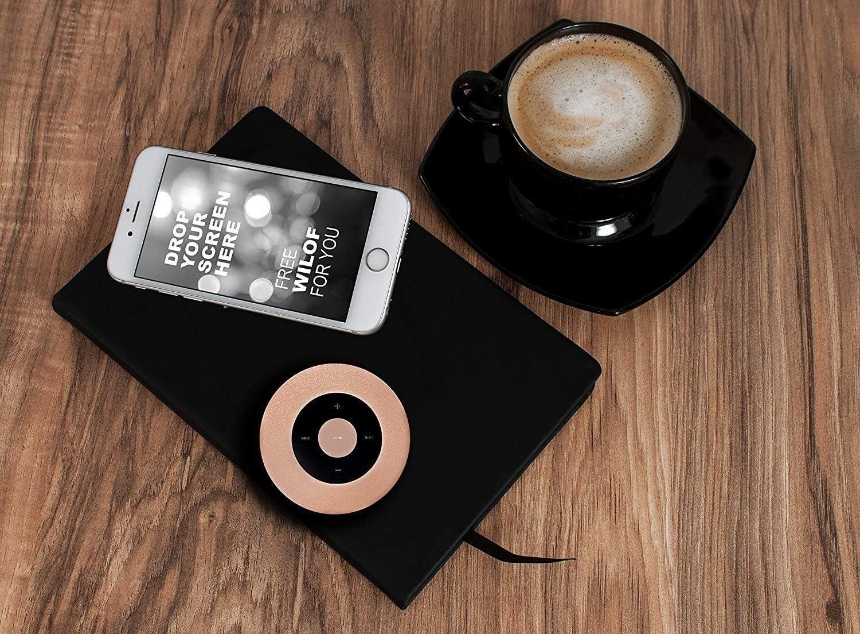 Smartphones Laptops und andere Ger/äte Set Tragbarer kabelloser Lautsprecher mit Freisprecheinrichtung Mini Bluetooth Lautsprecher f/ür MP3-Player Tablets