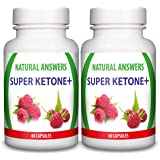 Super Ketone Plus Slimming Tablets by Natural Answers - UK Manufactured High Quality Dietary Pills - Maximum Strength Fat Burning Supplement - Pure Appetite Suppressant Formula - Quick Weight Loss Aid
