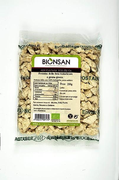 Bionsan Proteína de Soja Texturizada Gruesa - 200 gr