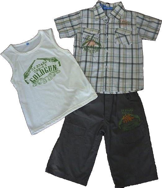 ZSF - Conjuntos de Camisas, Camisetas y Pantalones Cortos - para niño 12 años (Verde): Amazon.es: Ropa y accesorios