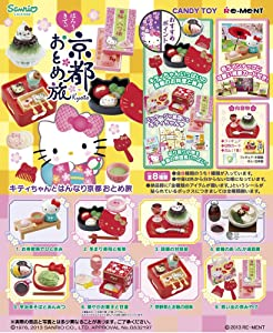 Re-Ment Sanrio Hello Kitty Girl's Trip to Kyoto Petite Figure Complete Set
