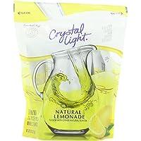 Crystal Light Lemonade Sticks, Natural, 8.6 Ounce
