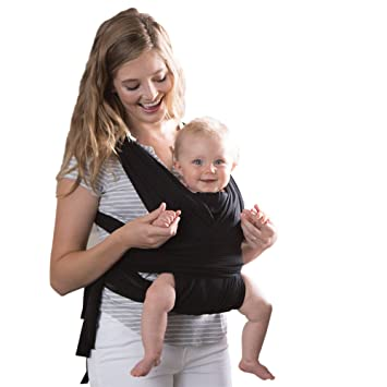 Boppy Comfyfit Baby Carrier Black