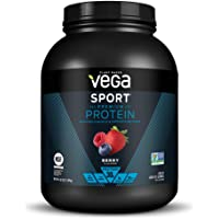 Vega Sport Premium Protein Powder, Berry, Plant Based Protein Powder for Post Workout - Certified Vegan, Vegetarian…