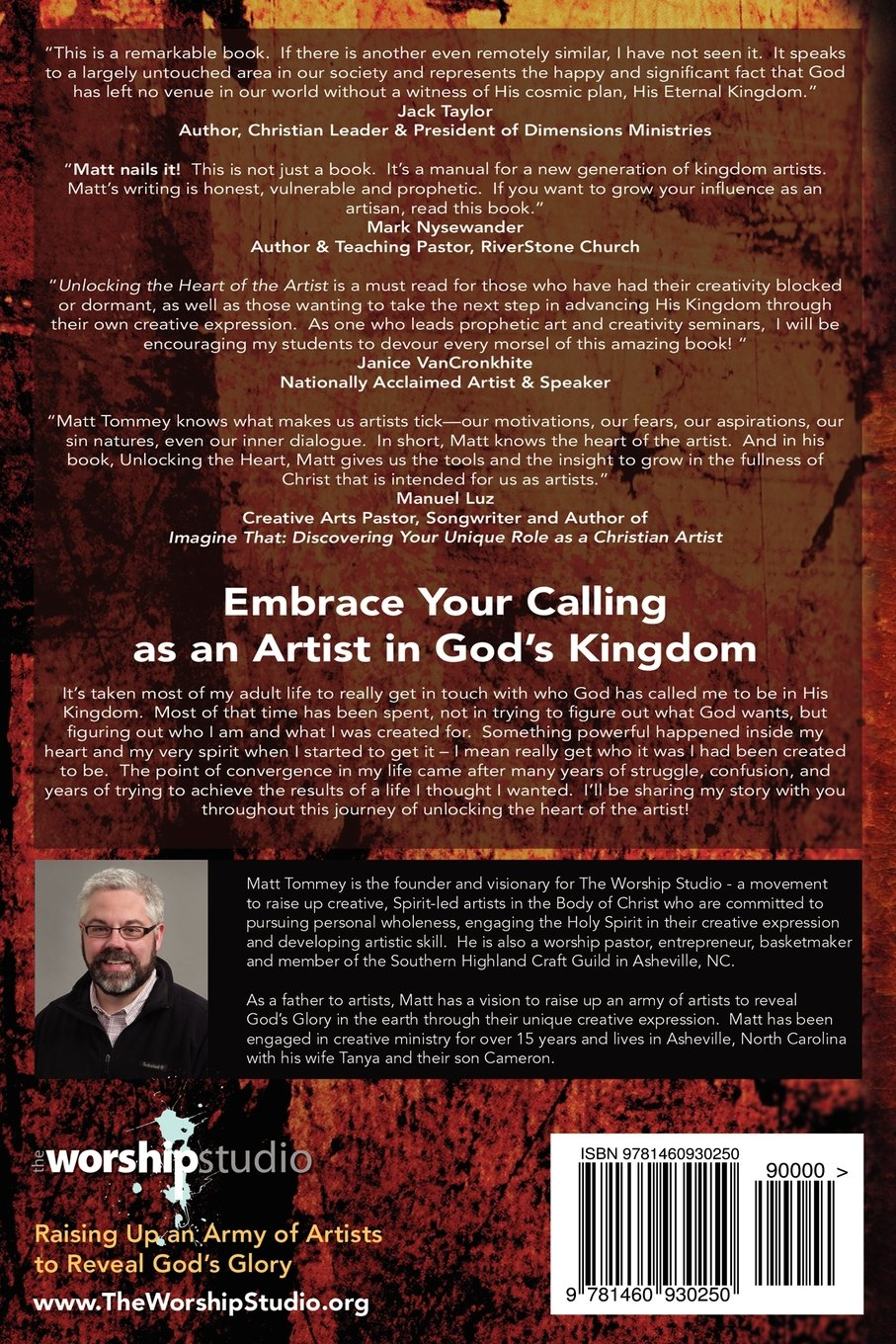 Unlocking The Heart Of The Artist: A Practical Guide To Fulfilling Your  Creative Call As An Artist In The Kingdom: Matt Tommey: 9781460930250:  Amazon: