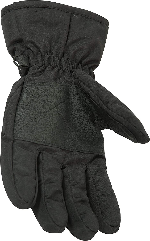 verstellbare B/ündchen Handfl/äche und Daumen mit Struktur F/ür Winter Schneedichte Skihandschuhe Fleecefutter Mountain Warehouse Schneef/äustlinge f/ür Kinder