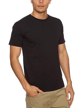 3a9792ba8739 Fruit of the Loom Super Premium T 2-Pack Logo Men's T-Shirt: Amazon.co.uk:  Clothing