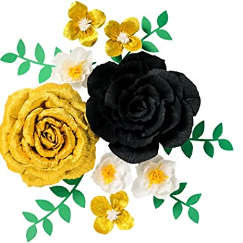 Amazon.com: Paper Flower Decorations, Handcrafted Flowers, Large ...