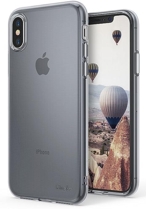 2 opinioni per Cover iPhone X, Ringke [AIR] Leggera come l'Aria, Estremamente Leggera e Sottile
