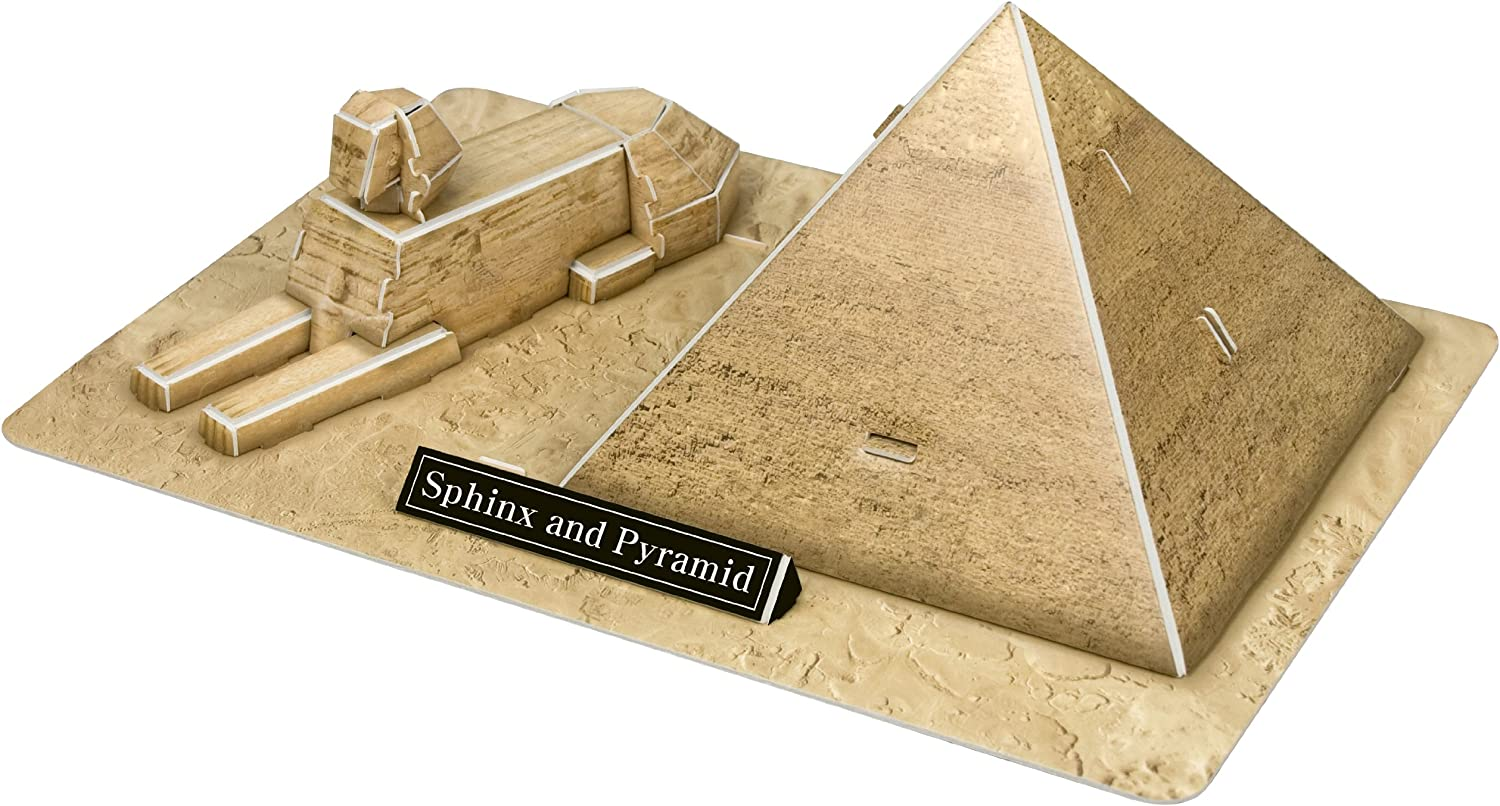 Egypt POP Out World 3D Puzzle World Architecture Series The Sphinx and the Great Pyramid of Giza