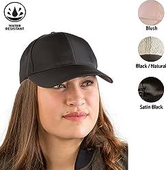 4a7aa95c580 August Hat Co Rain Resistant Solid Color Women s Baseball Cap