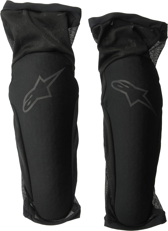 Small Black White Alpinestars Mens Paragon Plus Knee Protector