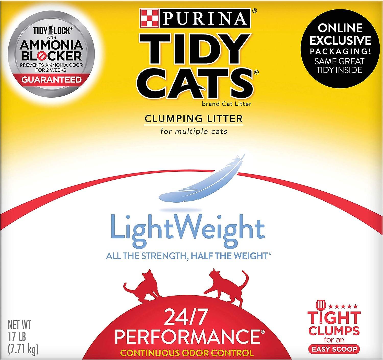 Purina Tidy Cats LightWeight 24/7 Performance Clumping Cat Litter