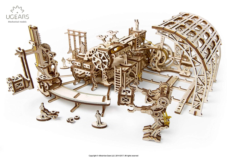 ふるさと納税 S.T.E.A.M. Line Line 3D木製パズル Toys UGears メカニカルモデル 3D木製パズル B07KN876TP - 機械式ロボット工場 B07KN876TP, 宮城郡:ee74134c --- a0267596.xsph.ru