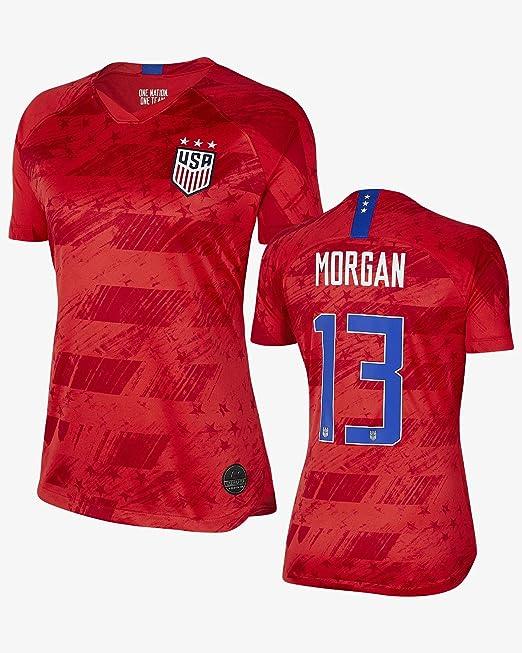 Maillot de Football USA Extérieur 20192020 Morgan 13 Rouge