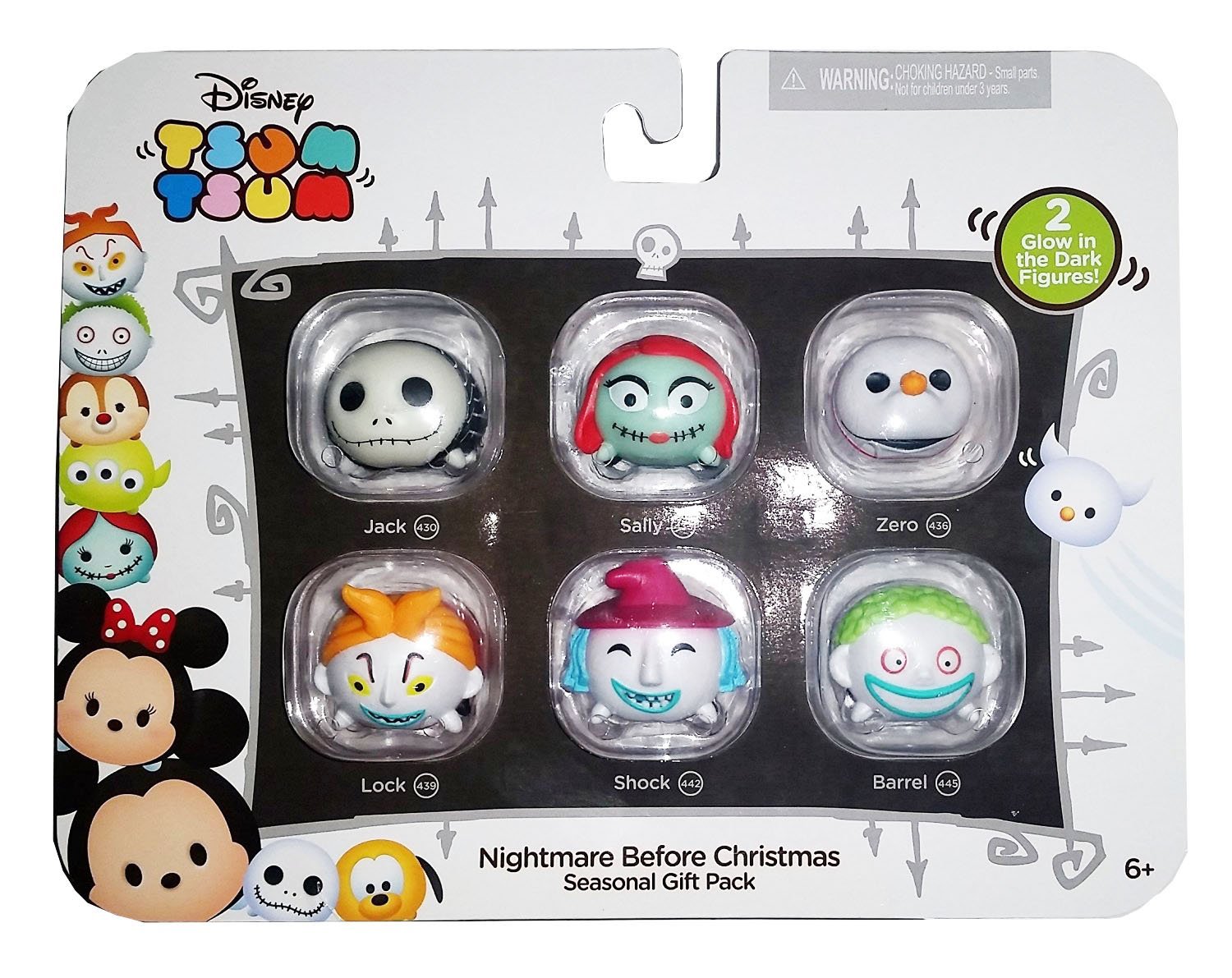 Amazon.com: Disney Tsum Tsum Nightmare Before Christmas Seasonal ...
