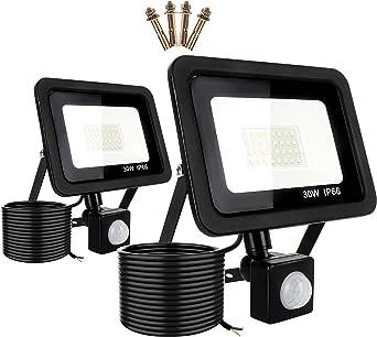 LED Flutlicht 20W 30W 50W 100W Außen Scheinwerfer Lampe 2000-10000LM SMD IP66