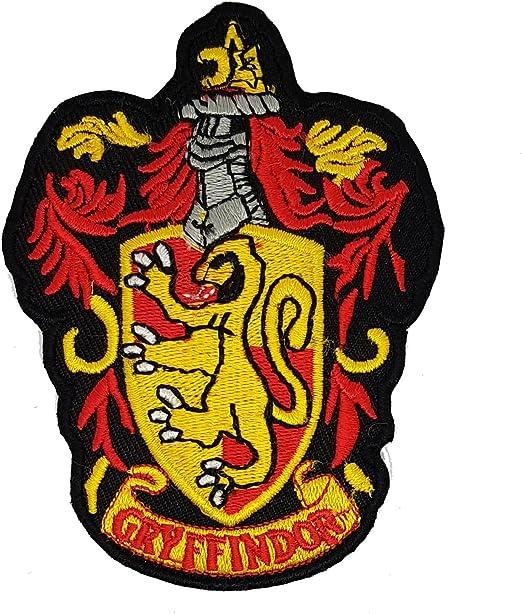 HP cámara de parche de bordado del escudo de Gryffindor Harry ...