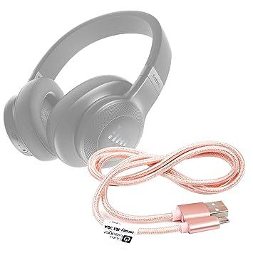 DURAGADGET Cable USB a Micro USB en color rosa. Para carga y transferencia de datos