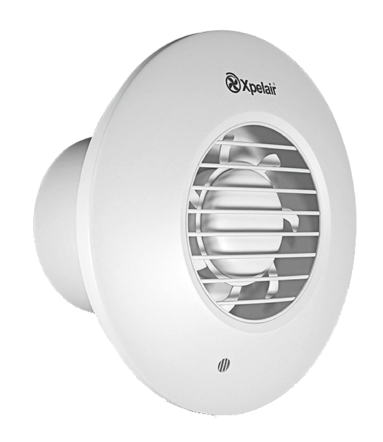 Xpelair DX100BR 4 inch (100mm) Simply Silent DX100B Bathroom Fan-Standard Round, Cool White Redring Xpelair Group