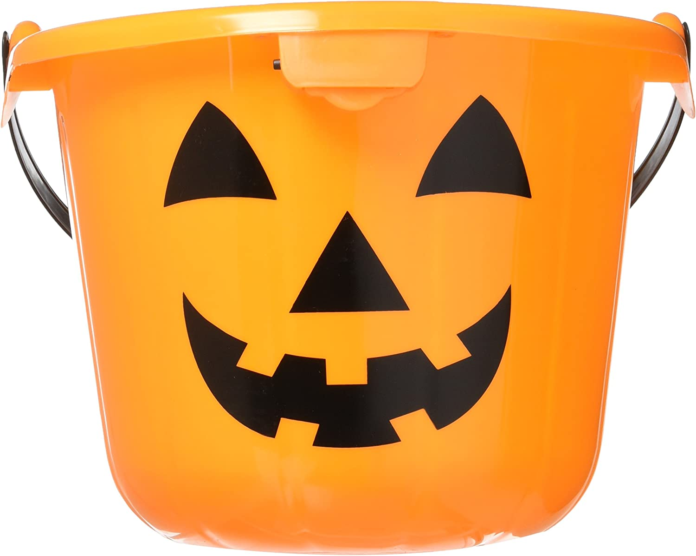 "Pumpkin Flashlight with Handle Halloween 6/"" Jack O Lantern"