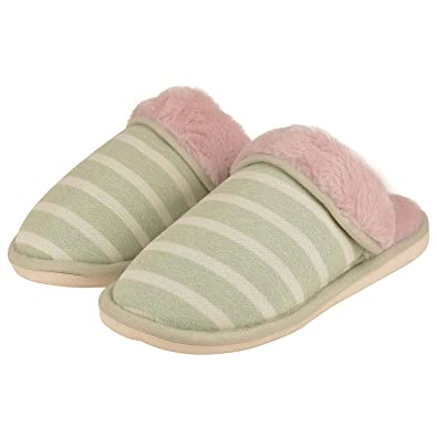 b7987b477f3181 DRUNKEN Women Faux Fur Purple White Indoor Home Slipper Sandals  Buy Online  at Low Prices in India - Amazon.in