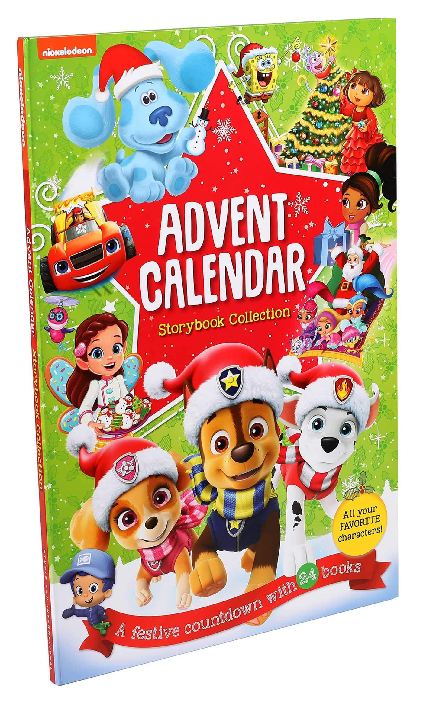 Nickelodeon Christmas Cartoon Countdown 2020 Nickelodeon: Storybook Collection Advent Calendar: Editors of