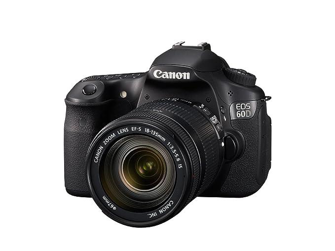 Canon EOS 60D - Cámara Réflex Digital 18 MP (Objetivo EF-S 18-135mm IS) (importado): Amazon.es: Electrónica