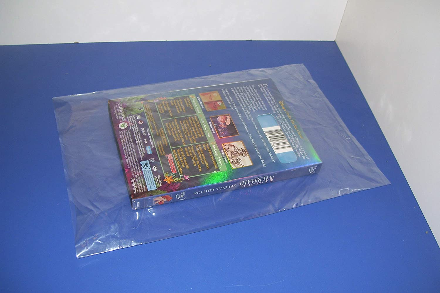 ULINE 100 Clear 24 x 36 Poly Bags Plastic Lay Flat Open TOP Packing ULINE Best 1 MIL