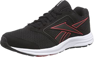 Reebok Zone Cushrun, Zapatillas de Running para Hombre, Negro-Schwarz (Black/Red Rush/Gravel/White/Silver Metalic), 39 EU: Amazon.es: Zapatos y complementos