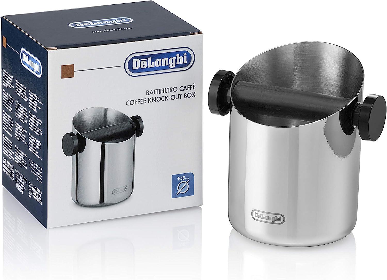 Delonghi DLSC059 Coffee Knock Box Silver
