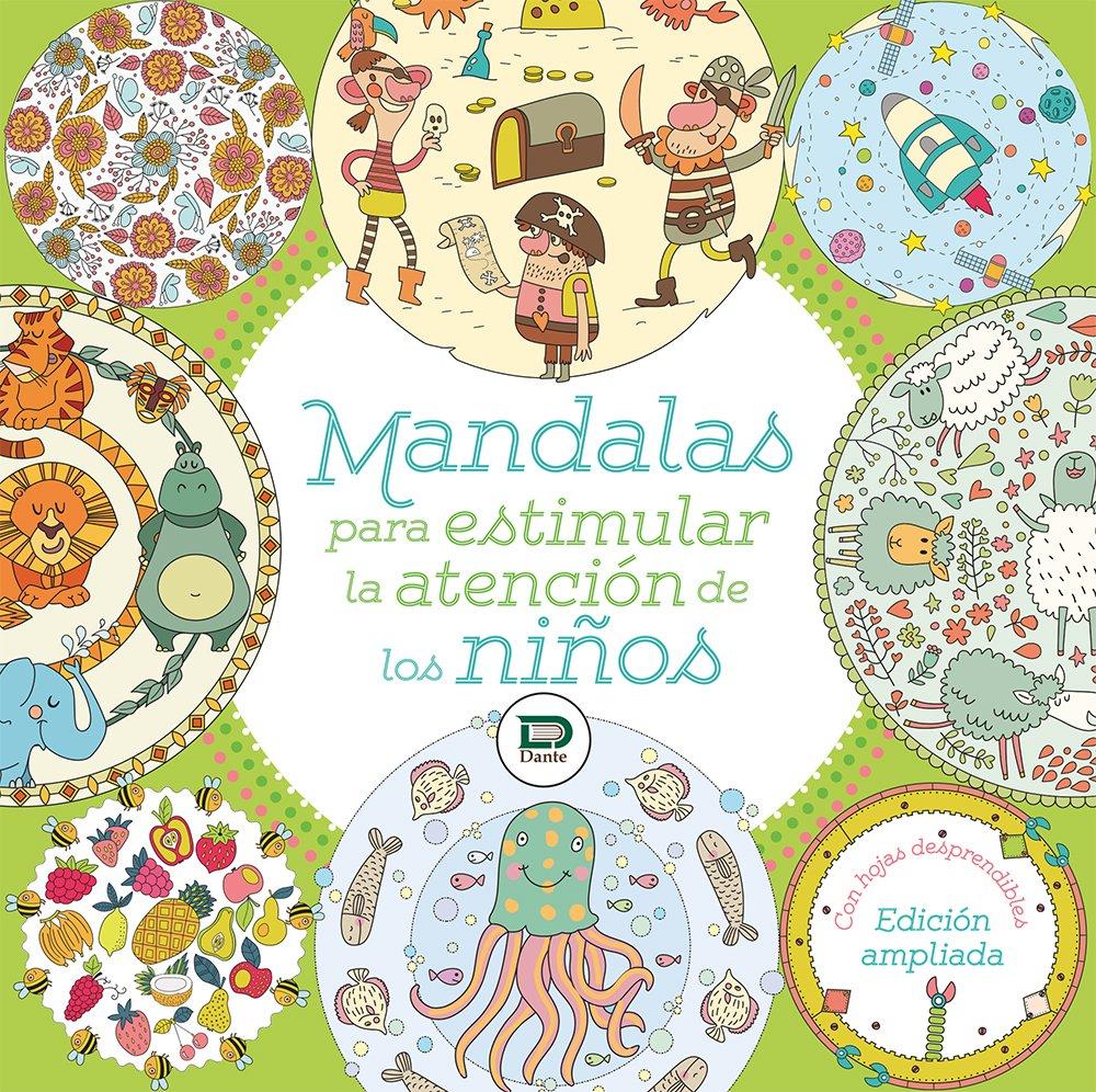 Mandalas Para Estimular La Atencion De Los Ninos Libro Para