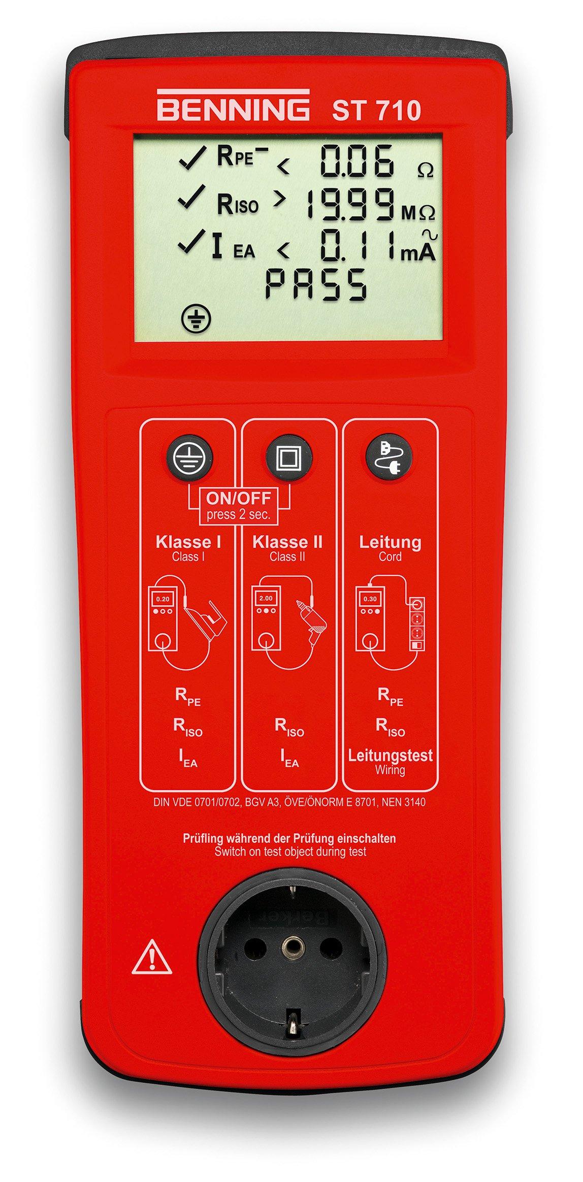 Benning 050308 ST 710 Kontrollinstrument, rot product image